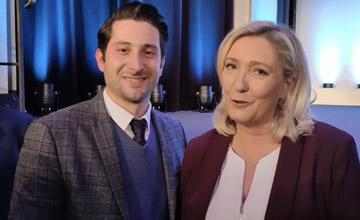 Marine Le Pen soutien Edgar Montagné